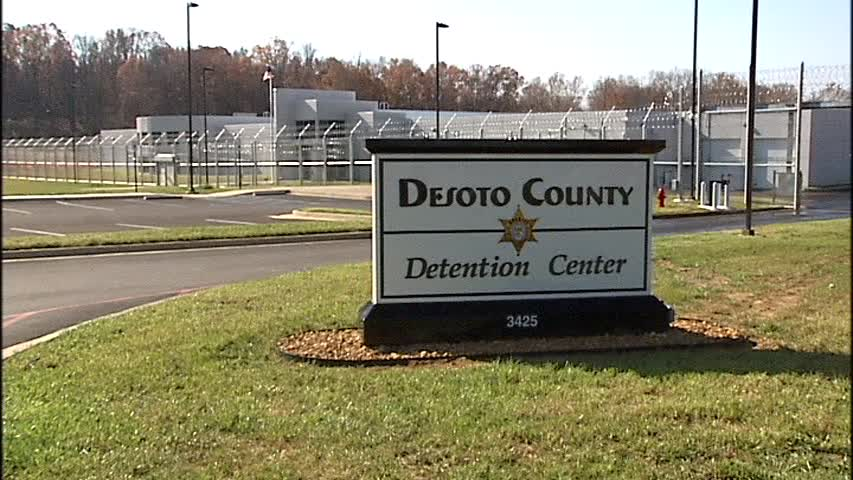 DeSoto County Detention Center Entrance