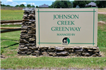johnson creek sign